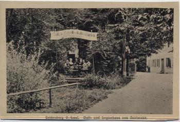 AK Seidenberg Zawidów Gast- und Logierhaus von Hartmann Schlesien Polen 1910 RAR