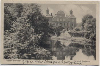 AK Essen Schloss Borbeck 1929