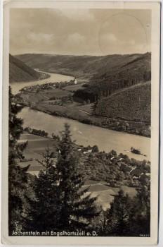 AK Foto Jochenstein mit Engelhartszell an der Donau Oberösterreich Österreich 1940