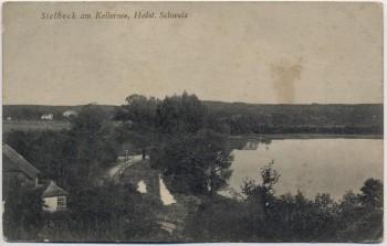 AK Sielbeck am Kellersee bei Eutin 1920