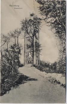 AK Ratzeburg Wasserturm 1910 RAR
