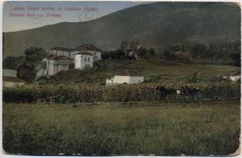 AK Niš Nischer Bad von Westen Serbien Feldpost 1915