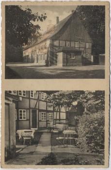 AK Neuengeseke Gaststätte Alberts bei Bad Sassendorf 1930 RAR