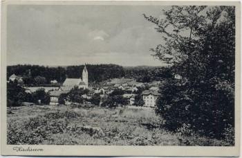 AK Kirchseeon Ortsansicht 1934