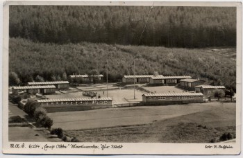 AK Foto Martinroda RAD-Lager 6/234 Ernst Abbe Thüringer Wald 1939