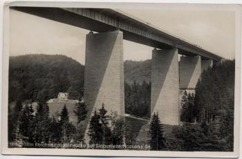AK Foto Siebenlehn Nossen in Sachsen Autobahnbrücke 1940