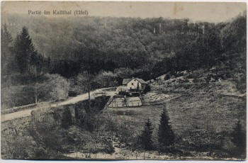 AK Gruß aus Simmerath Partie im Kalltal Eifel 1910