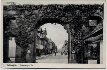 AK Erlangen Nürnberger Tor 1940