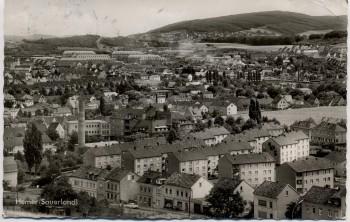 AK Foto Hemer im Sauerland Ortsansicht 1960