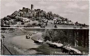 AK Nürburg Eifel Katzenbach Rennen auf dem Nürburgring bei Adenau 1960