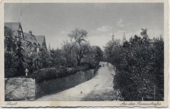AK Soest An der Rosenstraße Feldpost 1939