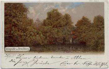 AK Schlagmühle bei Strausberg 1900