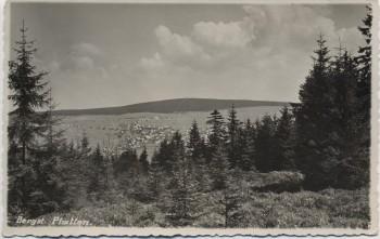 AK Foto Bergstadt Platten Horní Blatná Blick auf Ort Böhmen Tschechien 1939