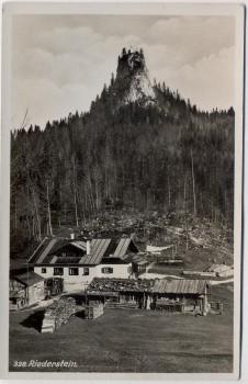 AK Foto Tegernsee Riederstein mit Berggasthaus 1940