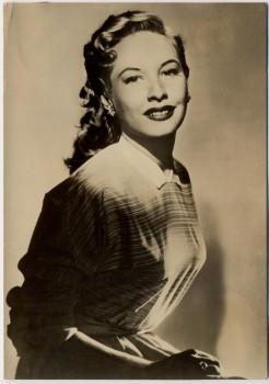 AK Foto Frau Seitenansicht Peter Steffen Auslandsdienst 1956