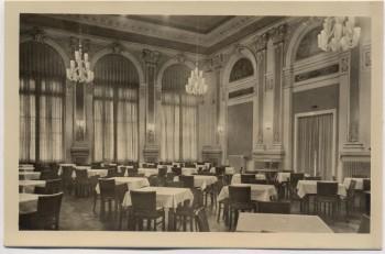 AK Foto Bad Schandau FDGB-Ferienheim Völkerfreundschaft Großer Saal 1956
