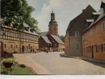 AK Geising HOG Ratskeller bei Altenberg Erzgebirge 1968
