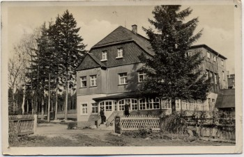AK Grünheide bei Auerbach Vogtland Pionierlager Wladimir Majakowski 1955