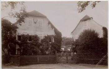AK Foto Waldeck in Thüringen Oberförsterei Goethehaus bei Bad Klosterlausnitz 1910