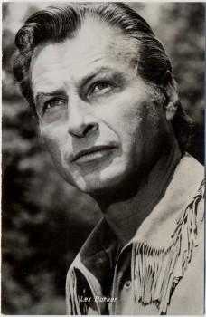 AK Foto Lex Barker Winnetou Kolibri Nr. 3021 1963