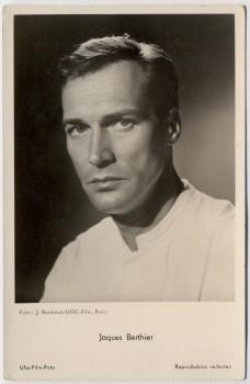 AK Foto Schauspieler Jacques Berthier Ufa Film 1950