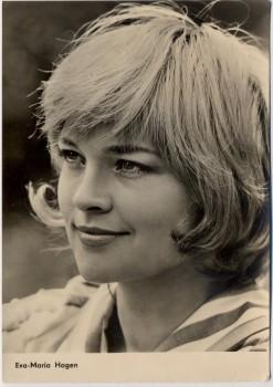 AK Foto Schauspielerin Eva-Maria Hagen DEFA-Filme 1960