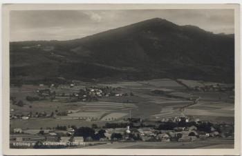 AK Foto Kötzting mit dem Keitersberg Ortsansicht Oberpfalz 1930