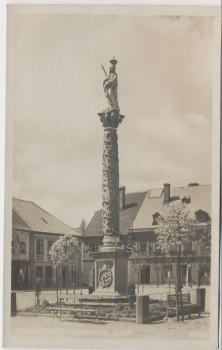 AK Police nad Metují Politz an der Mettau Denkmal Königgrätz Mähren Tschechien 1930