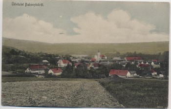 AK Bakonybél Ortsansicht bei Zirc Veszprém Ungarn 1929