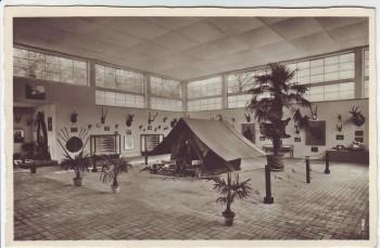 AK Foto Dresden Deutsche Kolonial-Ausstellung Die Jagd in den Kolonien Sonderstempel 1939 RAR
