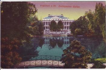 AK Frankfurt am Main Zoologischer Garten 1910