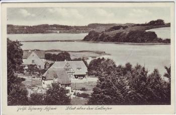 AK Fissau Blick über den Kellersee Eutin Holsteinische Schweiz 1930