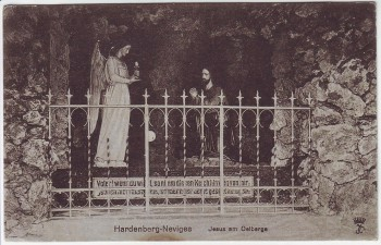 AK Velbert Hardenberg Neviges Jesus am Oelberge 1920