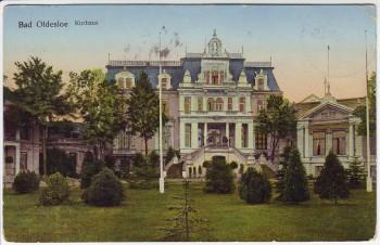 AK Bad Oldesloe Kurhaus goldene Fenster 1914