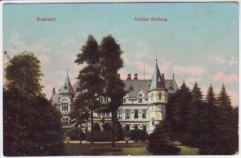AK Saarbrücken Brebach Schloss Halberg Feldpost Reserve-Lazarett 1916