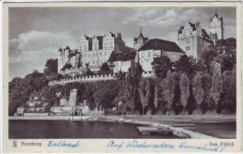 AK Bernburg Blick auf Schloß 1950