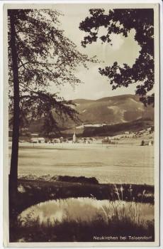 AK Foto Neukirchen am Teisenberg Ortsansicht bei Teisendorf 1935