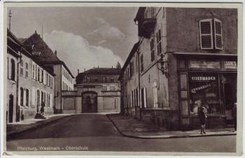 AK Pfalzburg Phalsbourg Oberschule Moselle Westmark Lothringen Frankreich 1930