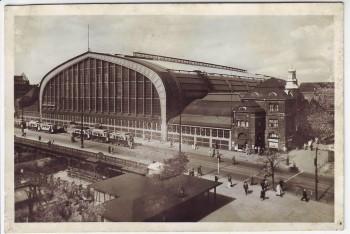 AK Foto Hamburg Hauptbahnhof 1940