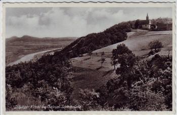 AK Foto Dublitzer Kirchl bei Salesel Dolní Zálezly Sudetenland Böhmen Tschechien 1939