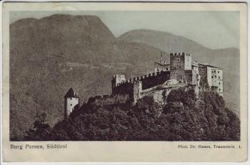 AK Burg Persen bei Pergine Valsugana Südtirol Italien 1913