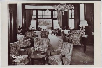 AK Foto Enschede Memphis-Hotel Lounge Overijssel Niederlande 1950