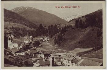 AK Gries am Brenner Ortsansicht Tirol Österreich 1910