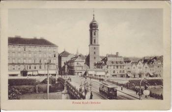 AK Graz Franz Karl-Brücke Steiermark Österreich 1910