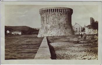 AK Foto Trogir Kula Kroatien 1940