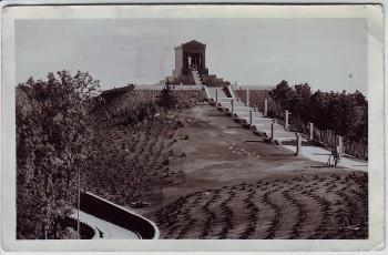 AK Foto Belgrad Београд Denkmal auf dem Avala Serbien 1938