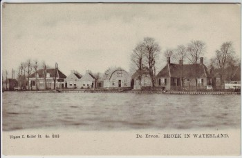 AK Broek in Waterland De Erven Noord-Holland Niederlande 1910