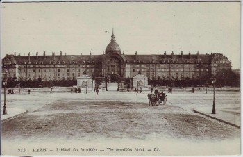 AK Paris L'Hotel des Invalides Frankreich 1910