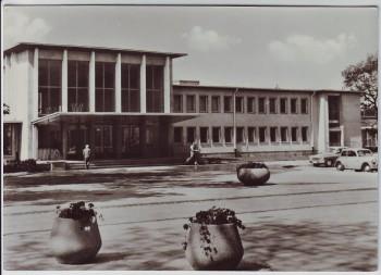 AK Foto Potsdam Hauptbahnhof 1967