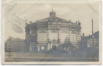 AK Foto Leipzig Restaurant Panorama 1912